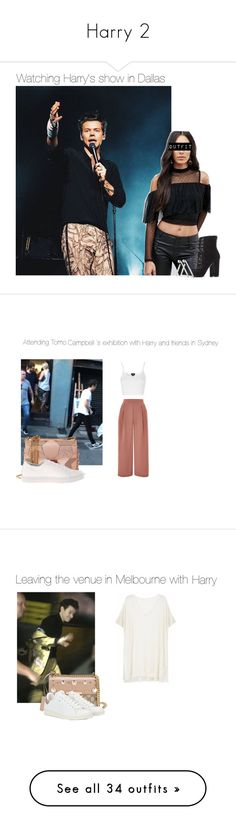 """""""Harry 2"""" by desyvaz ❤ liked on Polyvore featuring TFNC, Kendall + Kylie, Jennifer Fisher, Topshop, Jimmy Choo, Kenneth Cole, Ille De Cocos, Gucci, Isabel Marant and Yves Saint Laurent"""
