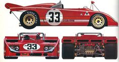 Alfa Romeo 33 TT 3 1971-1972 alpha auto c.1974