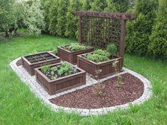 – Gardening Tips Potager Garden, Gravel Garden, Veg Garden, Vegetable Garden Design, Garden Landscape Design, Garden Trellis, Garden Yard Ideas, Garden Projects, Outdoor Garden Bench