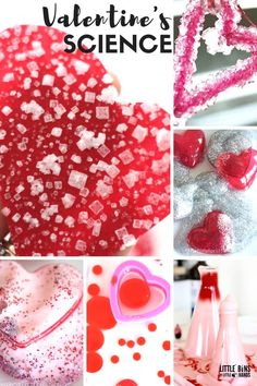 Make these pretty and easy crystal hearts for Valentines Day science and chemistry. Our crystal hearts Valentines science experiment is simple to set up.