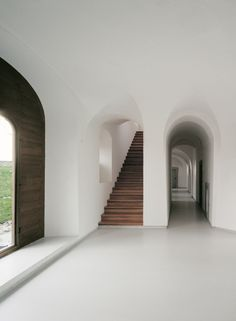 I don't like truth, ...EASTERN design office - John Pawson, Novy Dvur Monastery, Bohemia, 2006...