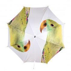 Nature Conscious Parrot Umbrella