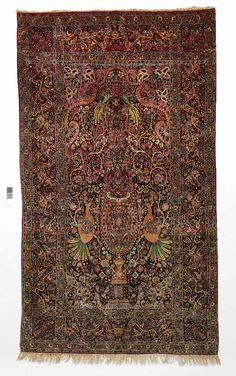 Persian Kerman rug, early 20th c