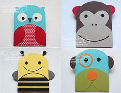 Little Critter Cards 1-4