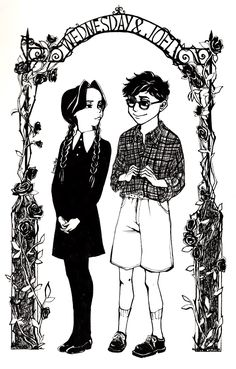 _2_wednesday_addams_and_joel_glicker_by_urrose-d950d4p.jpg (1024×1603)