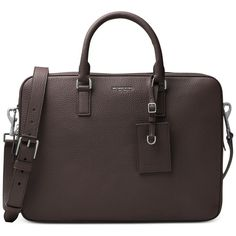 2560e17629d4 Michael Kors Bryant Large Briefcase ( 548) ❤ liked on Polyvore featuring  men s fashion