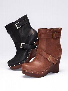 UGG® Australia NEW! Taryn Clog Bootie #VictoriasSecret http://www.victoriassecret.com/shoes/fall-trend-report/taryn-clog-bootie-ugg-australia?ProductID=70643=OLS?cm_mmc=pinterest-_-product-_-x-_-x