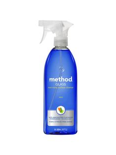 Buy Method Mint Window Glass Cleaning Spray from our Cleaning Products range at John Lewis & Partners.