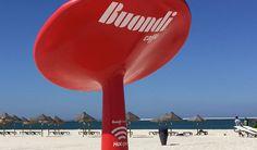 Buondi Hotspot: rede para todos em pleno areal