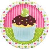 Cupcake Party Dinner Plates 8ct - Party City