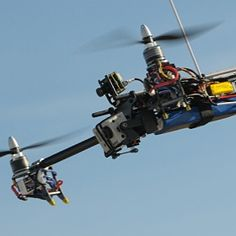 AeroCam RC Multicopter - Multirotors with High Definition video stabilized recording system.