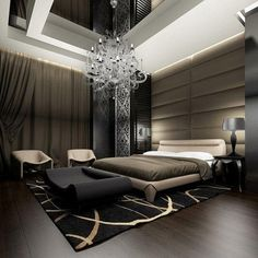 Looks like Christian Grey's bedroom... biting lip...
