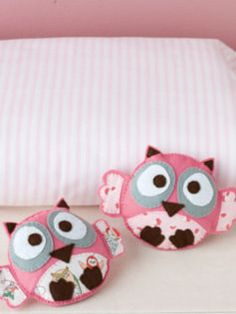 How to sew a felt owl #craft