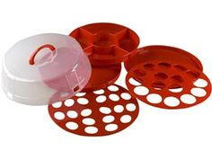 Red 4 in 1 Party Traveler at Cooking.com #holidaycooking