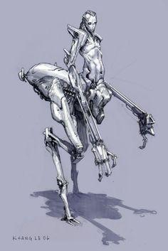 Cyborg Ilustración