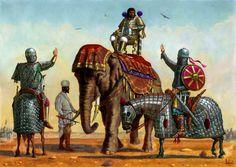 Before the battle of al-Qadisiyyah 636