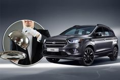 Ford Kuga gets significant 2016 update including new SYNC 3 tech. It should only be a matter of time before Australian Ford dealerships take delivery of this new face-lifted Ford Kuga SUV. Vw Arteon, Volkswagen Tiguan, Ford Motor Company, Ford Kuga 2017, Pick Up, Fiat 500x, Automobile, Motor Diesel, Counting Cars