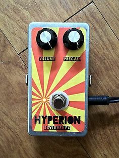 Devi Ever Hyperion fuzz guitar pedal with custom graphic | eBay