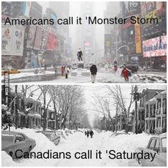 just another winter day in Canada! Winter Day, Best Funny Pictures, Haha, Hilarious, Canada, Earth, American, Memes, Outdoor