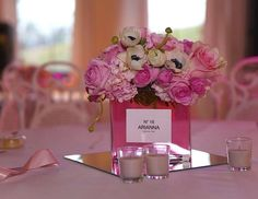 "Parisian, French, Paris, Pink, Pink and black / Birthday ""Arianna turns Sweet 16"" 