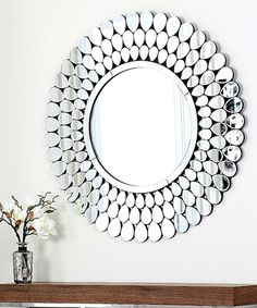 Look at this Loretta Round Wall Mirror on #zulily today!