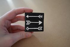 Black and White Tribal Arrow Hunger Games Mini by GraceHeartStudio, $8.00