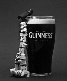 Star Wars, Lego and Guinness. :)