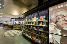 Display area, Almere Library, Netherlands