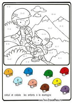 Printable Math Worksheets, Kindergarten Math Worksheets, Preschool Activities, Math 4 Kids, Bible Coloring Pages, Math Addition, Classroom Fun, Math Lessons, Kids Education
