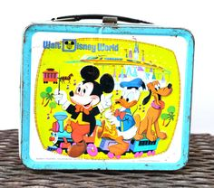 Walt Disney World Lunch Box Aladdin Metal by LindasTimeCompass, $6.50