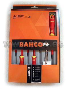 Set destornilladores aislados BahcoFit B220.027 #herramientas #bricolaje #taller #BAHCO