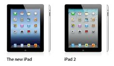 What's the difference between the New iPad and the iPad 2? Find out here..