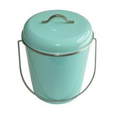 Poubelle Salle de bains ou Cuisine 6 L Waterquest menthe WATERQUEST