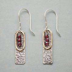 FIRE WITHIN EARRINGS: View 1