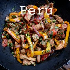 Peruvian recipes Peruvian Dishes, Peruvian Cuisine, Peruvian Recipes, Pork Recipes, Mexican Food Recipes, Cooking Recipes, Healthy Recipes, Ethnic Recipes, Delicious Recipes