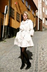 On the Street…..Trench & Flats, Sodermalm, Stockholm - The Timeless Trench