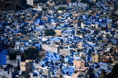 30 Cliff-side Villages  29) Jodhpur, India