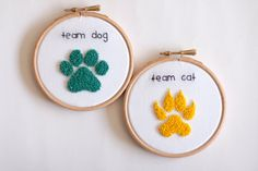 Hey, I found this really awesome Etsy listing at https://www.etsy.com/listing/205542067/embroidery-wall-art-sales-footprint-cat