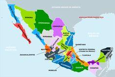Resultado de imagen para mapa con división política