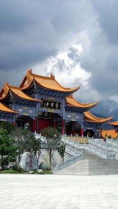 Chongsheng Temple, Yunnan, China
