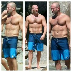 New Favorite Booty Boot-Camp Workout Style Hommes Chauves, Praia Casual, Jason Stathman, Bald Men Style, Bald Man, Fitness Workouts, Fitness Memes, Boot Camp Workout, Workout Memes