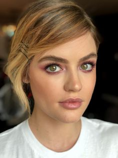 Lucy Hale natural day time makeup look