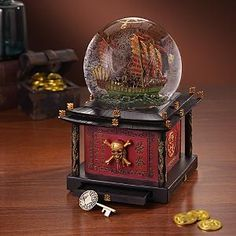 Disney Snowglobes Collectors Guide: Pirates of the Caribbean Snowglobe