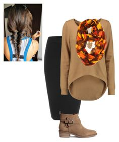 """Fall outfit #3"" by bye18 ❤ liked on Polyvore featuring Michael Kors"