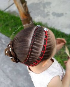 La imagen puede contener: una o varias personas Kids Braided Hairstyles, Boy Hairstyles, Competition Hair, Braids For Kids, Halloween Makeup, Girl Fashion, Hair Beauty, Hair Styles, Videos
