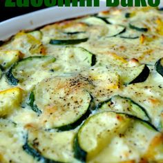 Feta and Parmesan Zucchini Bake   What2Cook