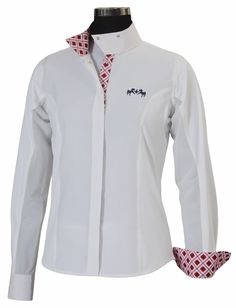 Equine Couture Jenna Show Shirt - Ladies | HorseLoverZ