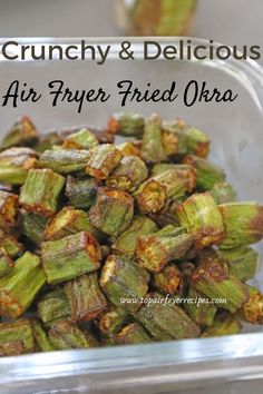 Make air fryer fried okra in just 15 minutes. You can make air fryer fried okra recipe for a quick snack. You can make air fryer okra from frozen or from fresh as well because they both tastes good. Air Fried Okra Recipe, Air Fryer Recipes Okra, Air Fryer Dinner Recipes, Appetizer Recipes, Appetizers, Frozen Okra Recipes, Healthy Okra Recipes, Tasty Vegetarian Recipes, Yummy Recipes