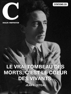 - les plus. Image Citation, Quote Citation, S Quote, Art Quotes, Famous Artist Quotes, Famous Artists, Citations Film, Plus Belle Citation, Jean Cocteau