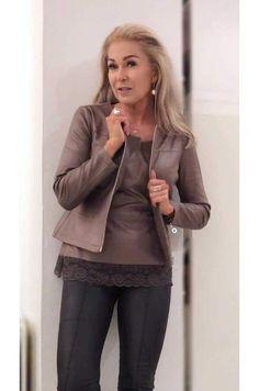 Tekstiilinahkainen  jakku Nutria
